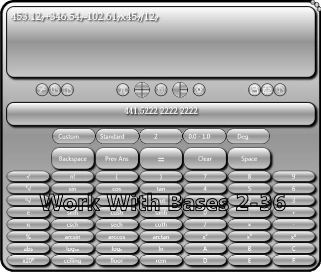 Usmania Calculator, Hobby, Educational & Fun Software Screenshot