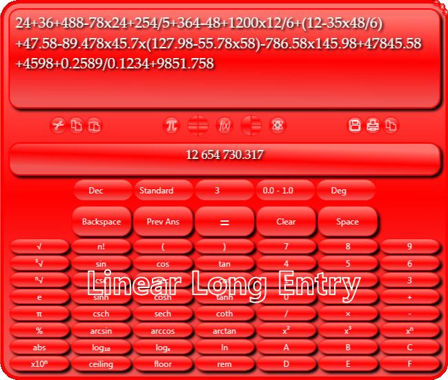 Usmania Calculator Screenshot
