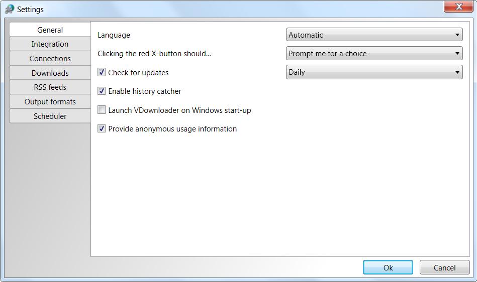 Video Software, VDownloader Plus Screenshot