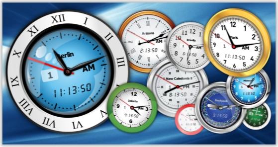 Clock Software, Vector Clock Pro Screenshot
