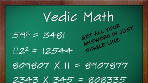 Vedic Maths Screenshot
