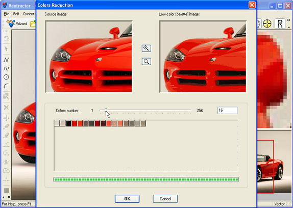 Vextractor, Design, Photo & Graphics Software, Vector Drawing Software Screenshot