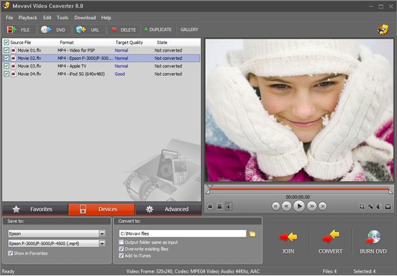 Video Converter Personal Screenshot