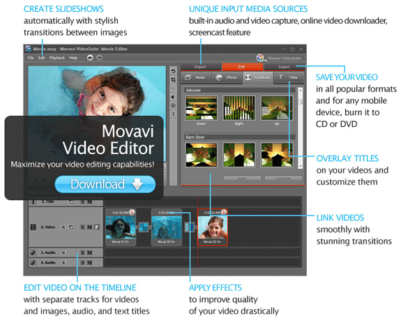 Video Editor Personal, Video Software Screenshot