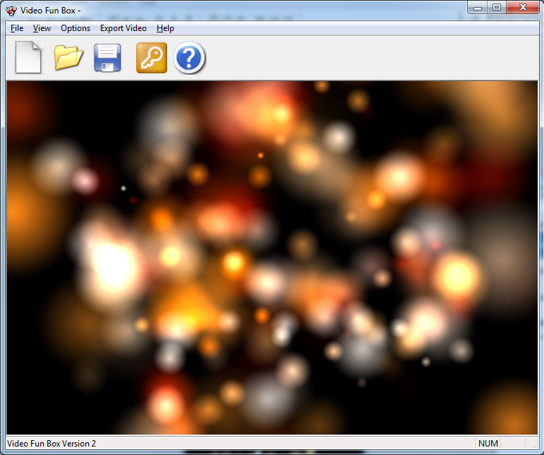 Video Fun Box V2, Video Software Screenshot