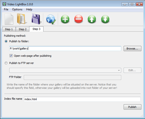 Video LightBox Unlimited Website License, Development Software Screenshot