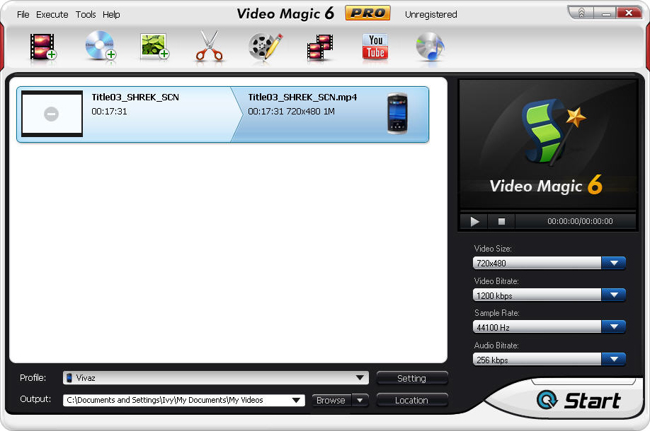 Video Magic Pro Screenshot