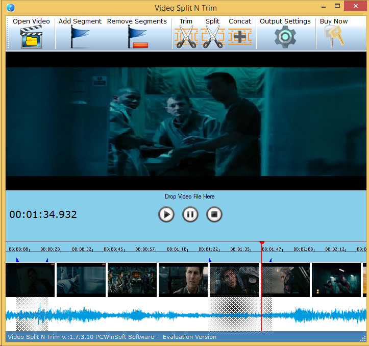 Video Software, Video Editing Software Screenshot