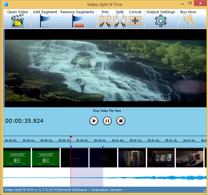 Video Split & Trim, Video Software, Video Editing Software Screenshot
