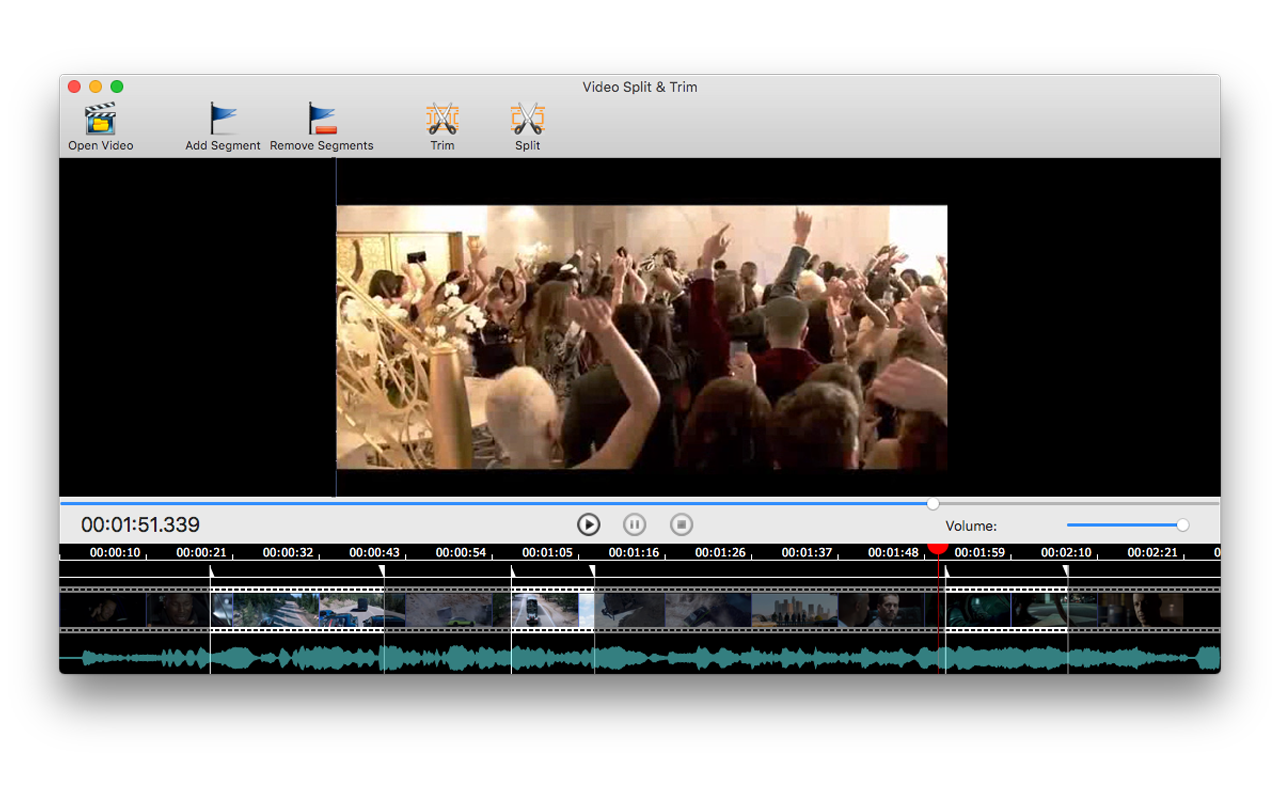 Video Split & Trim Screenshot