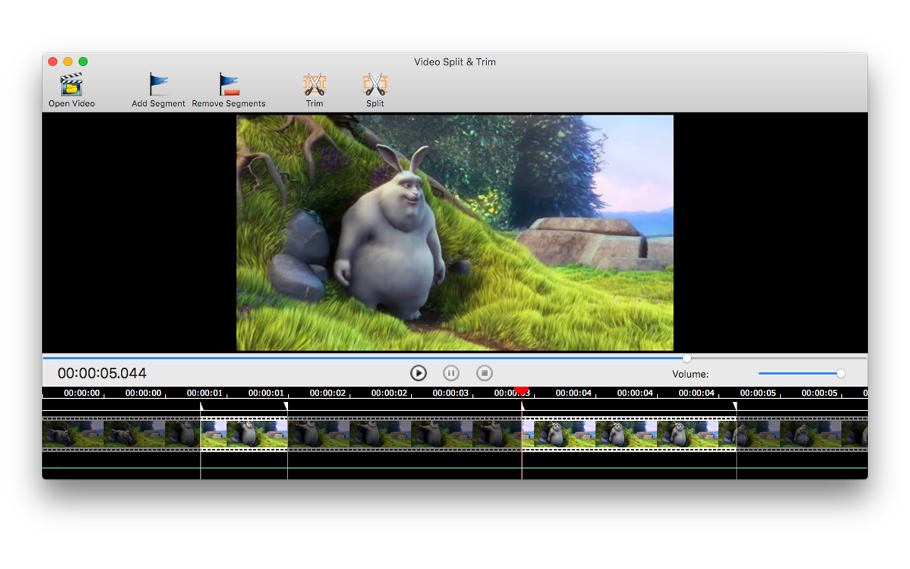 Video Split & Trim, Video Software Screenshot