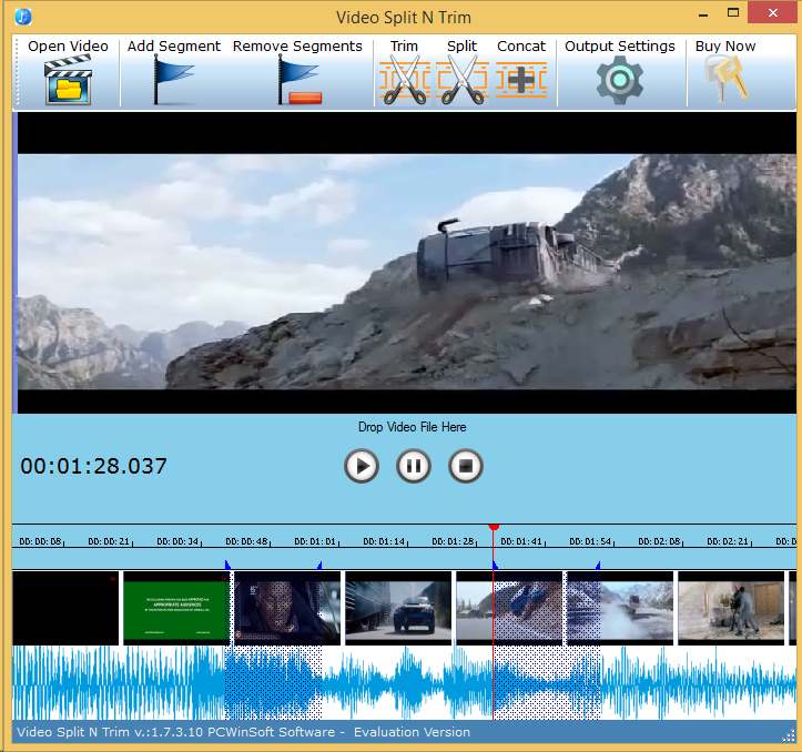 Video Software, Video Split & Trim Screenshot
