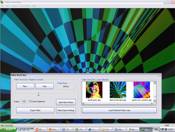 Video Stock Box Screenshot