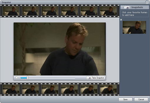 Video Editing Software, VideoFlick Screenshot