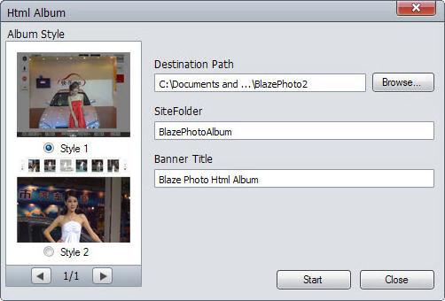 VideoFlick, Video Software Screenshot