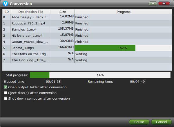 VidMobie Video Converter Ultimate, Video Software Screenshot