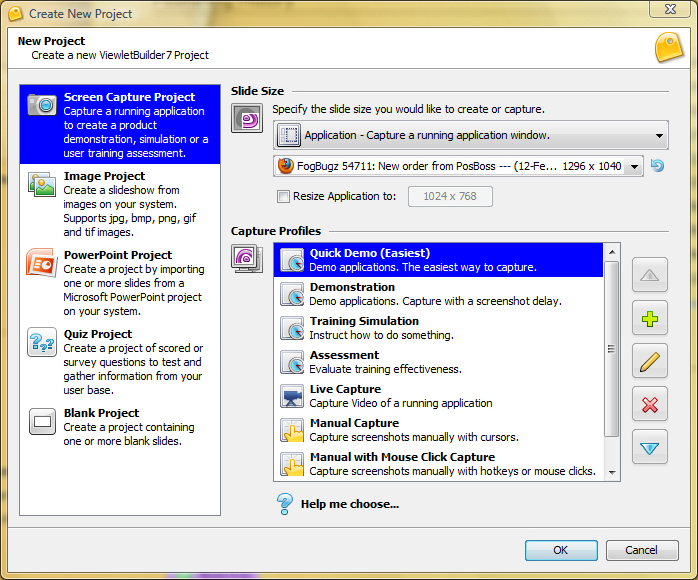 ViewletBuilder7 Enterprise, Screenshot Software Screenshot
