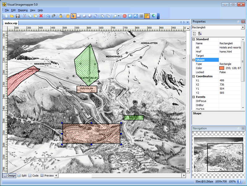 Visual Imagemapper 5 Screenshot