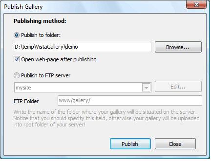 Visual Lightbox Unlimited Websites, Development Software Screenshot