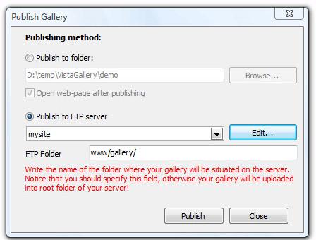 Website Builder Software, Visual Lightbox Unlimited Websites Screenshot