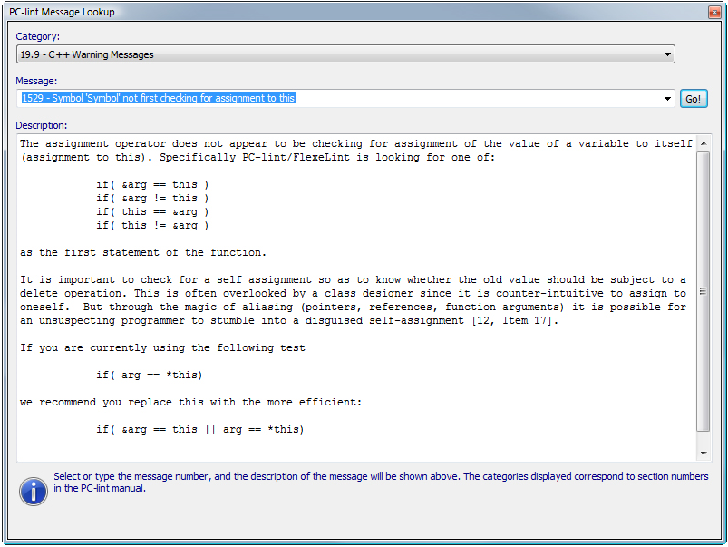 Development Software, Visual Lint Standard Edition Screenshot