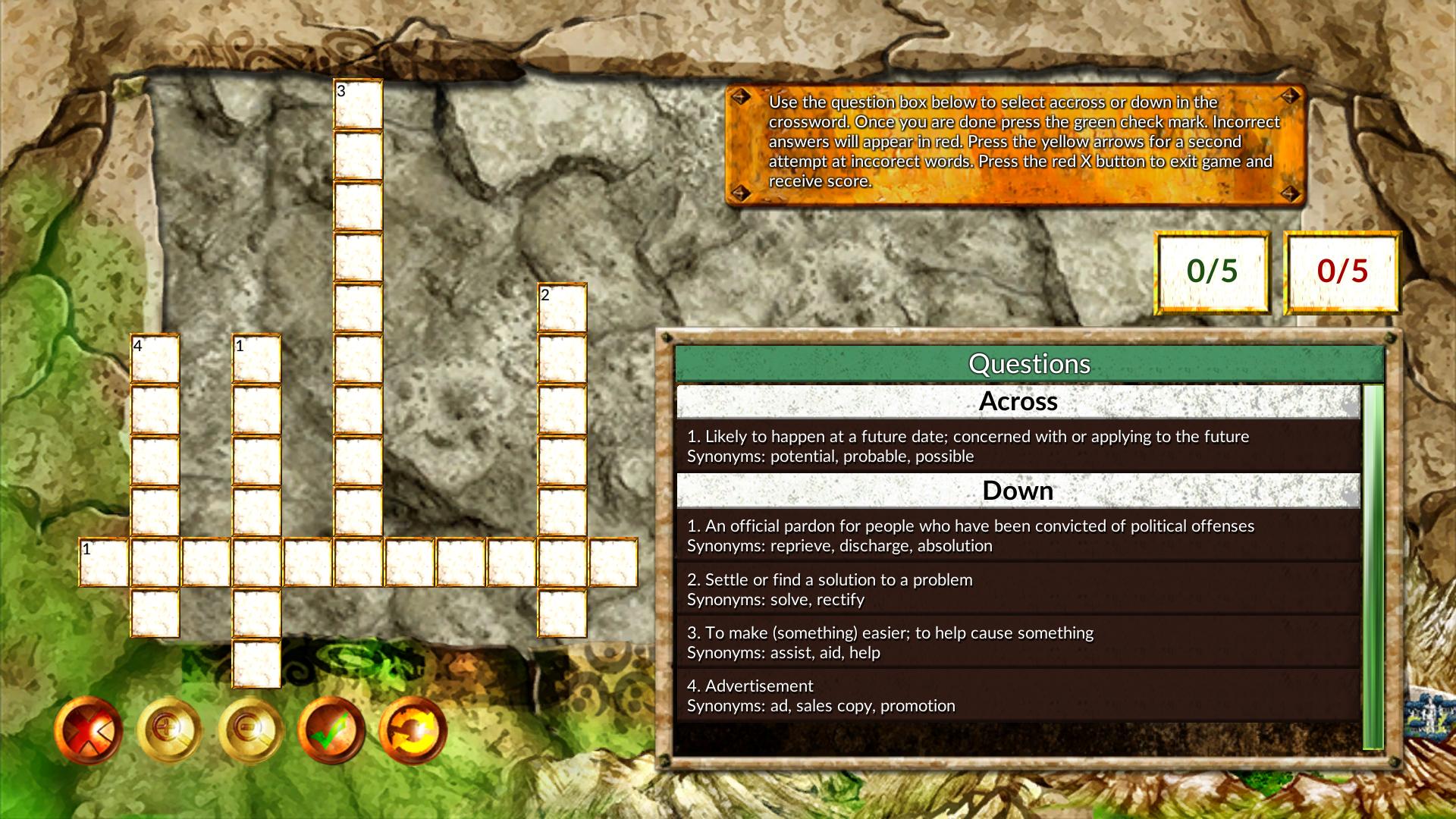 Vocabulary Quest, Hobby, Educational & Fun Software Screenshot