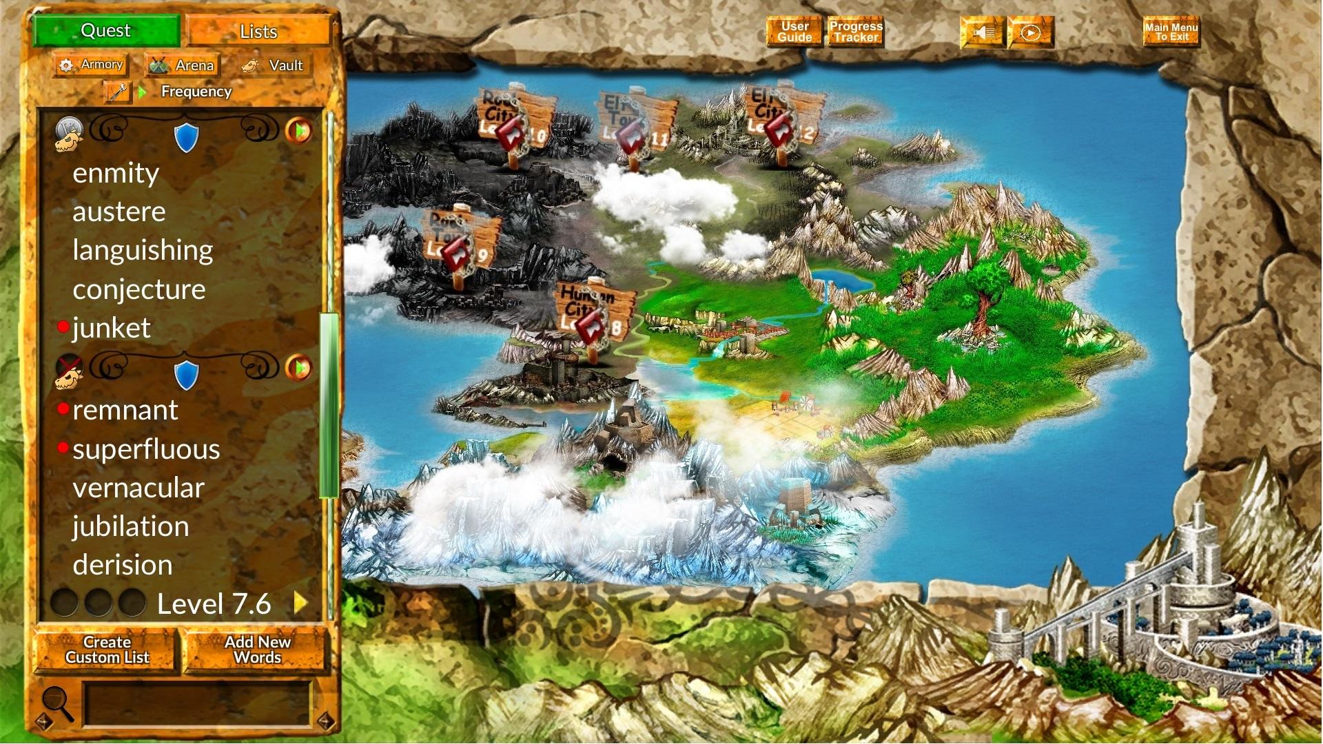 Vocabulary Quest Screenshot
