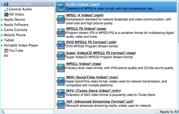 Voilabits DVDRipper for Mac, DVD Ripper Software Screenshot