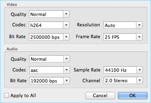 Voilabits DVDRipper for Mac, Video Software Screenshot