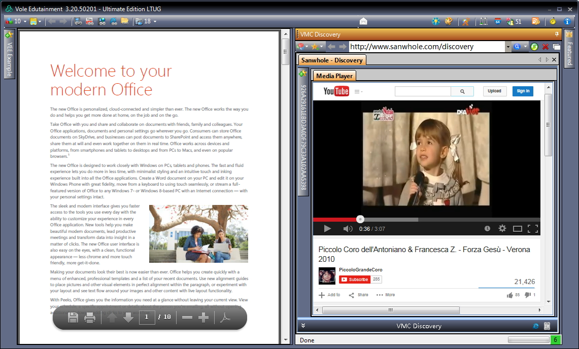 Video Software, Video Player Software Screenshot