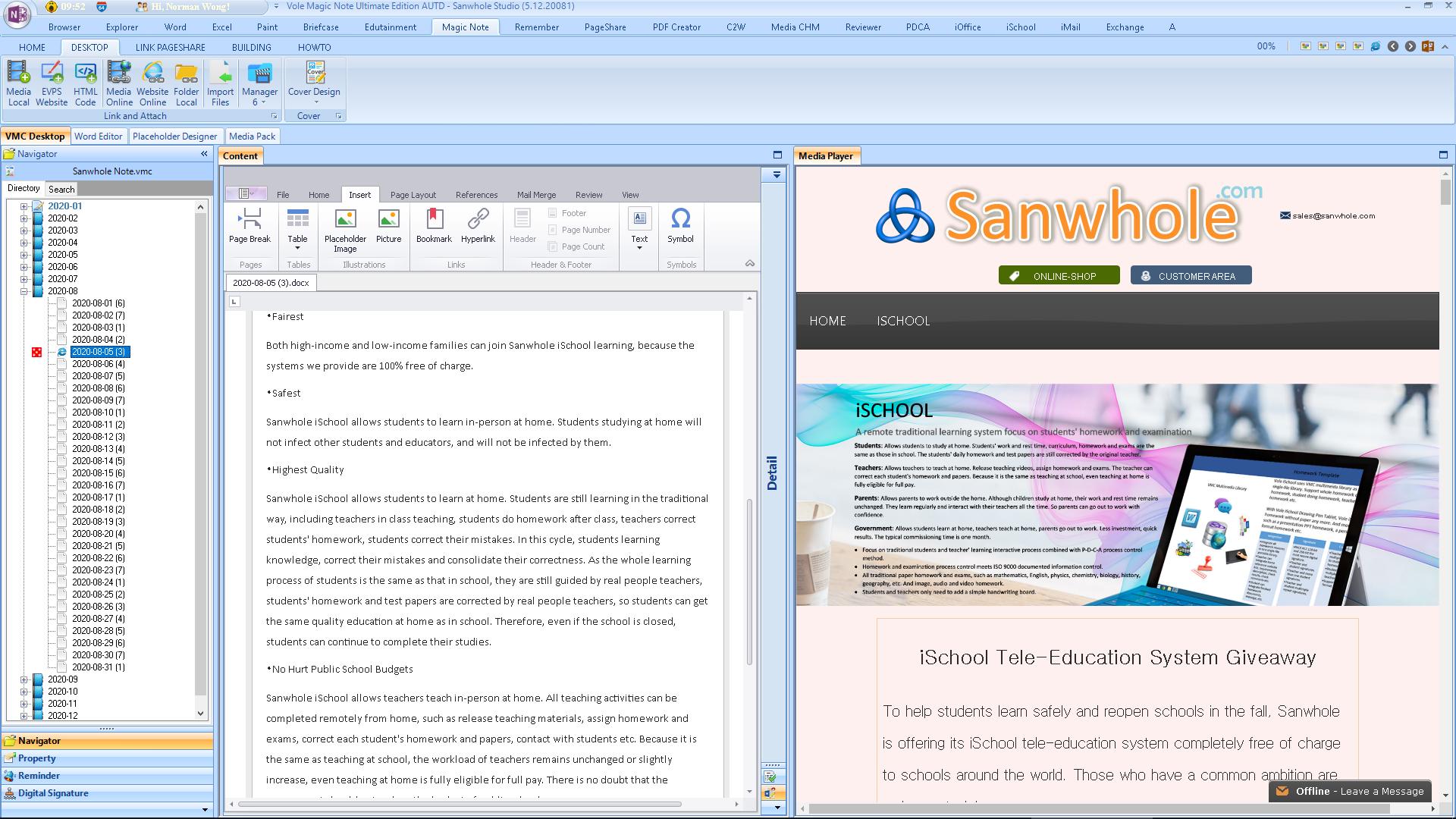 Vole Magic Note Professional Edition, Hobby, Educational & Fun Software Screenshot