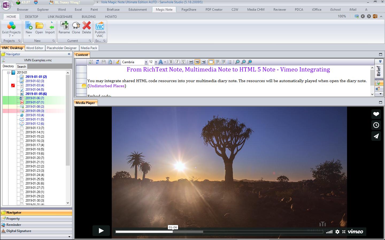 Vole Magic Note Professional Edition Screenshot 12