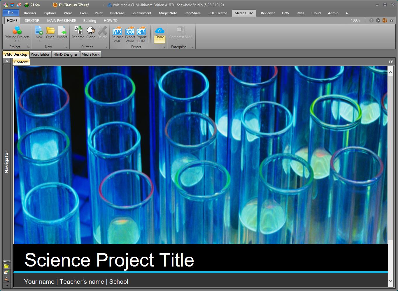 Vole Media CHM Professional Edition Screenshot 12