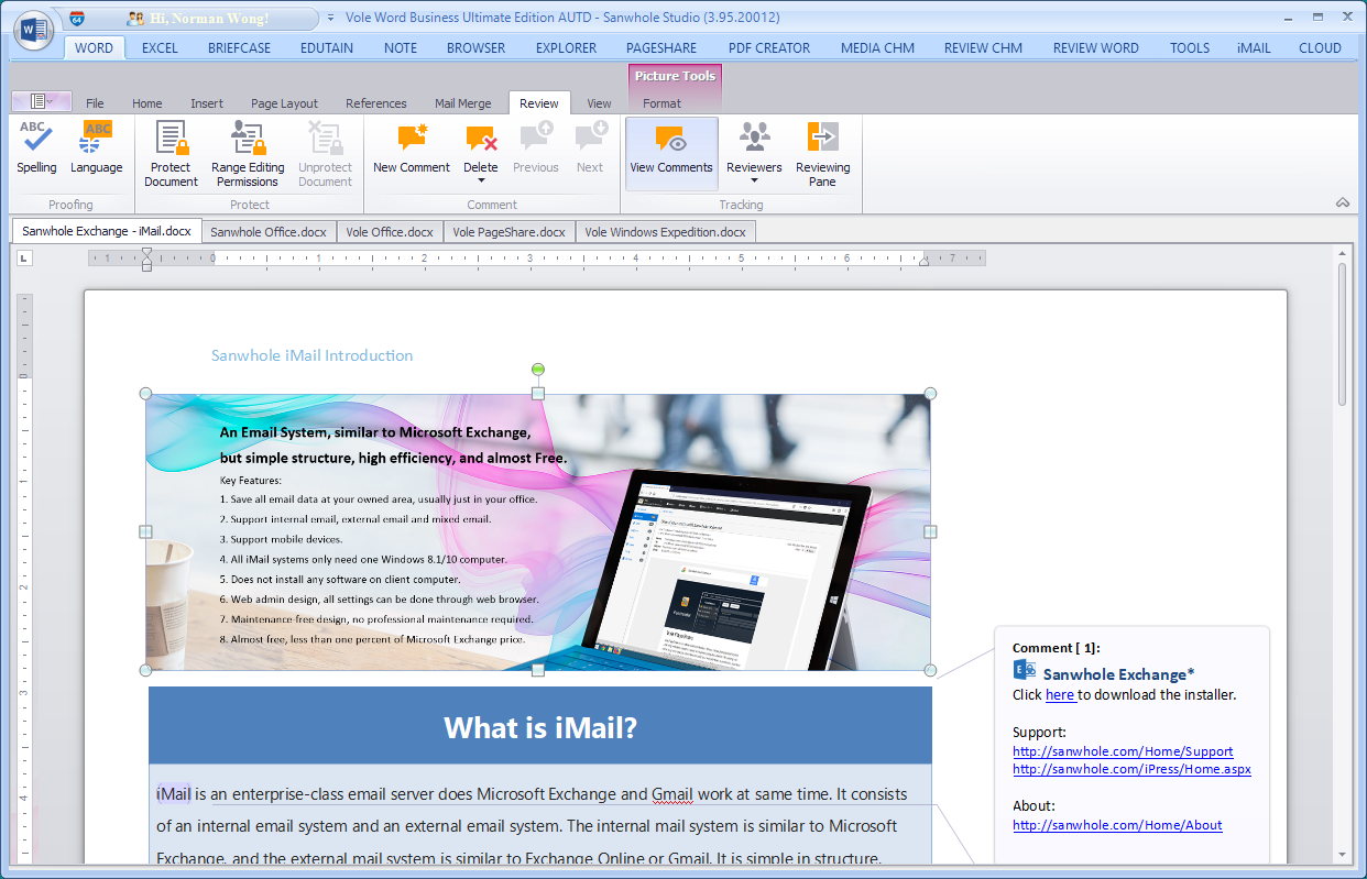 Microsoft Office Software Screenshot