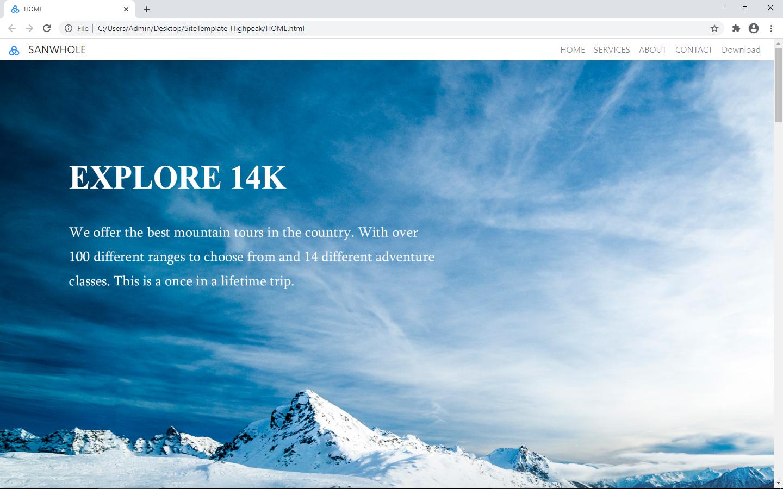 Website Builder Software, Vole PageShare Professional Screenshot