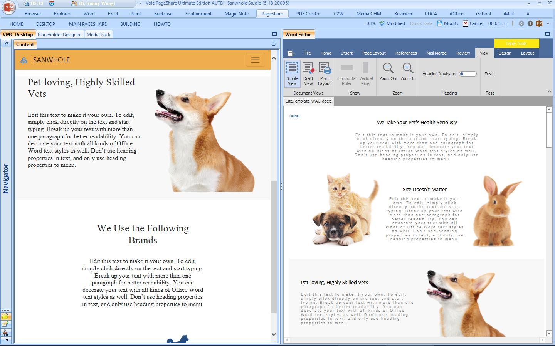 Vole PageShare Professional Screenshot 12