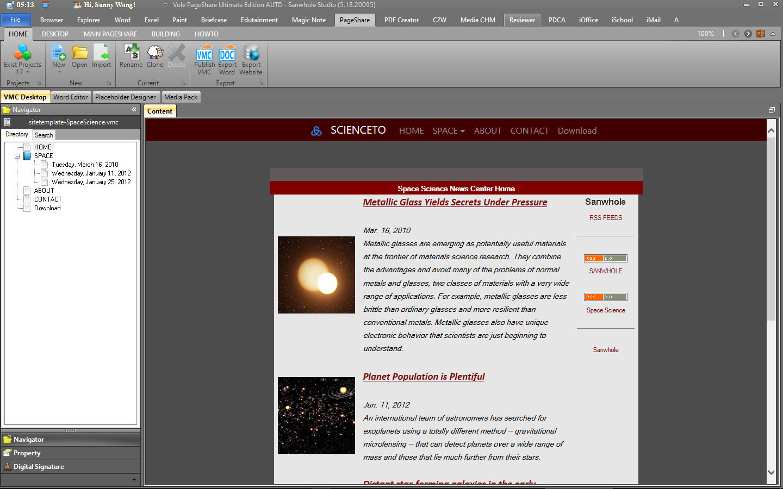 Vole PageShare Professional Screenshot 8