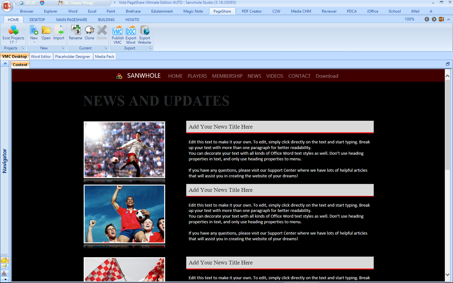 Vole PageShare Ultimate Screenshot 28