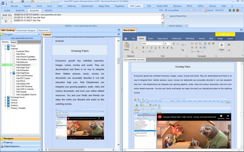 Vole PDF Creator Professional Edition Screenshot 11