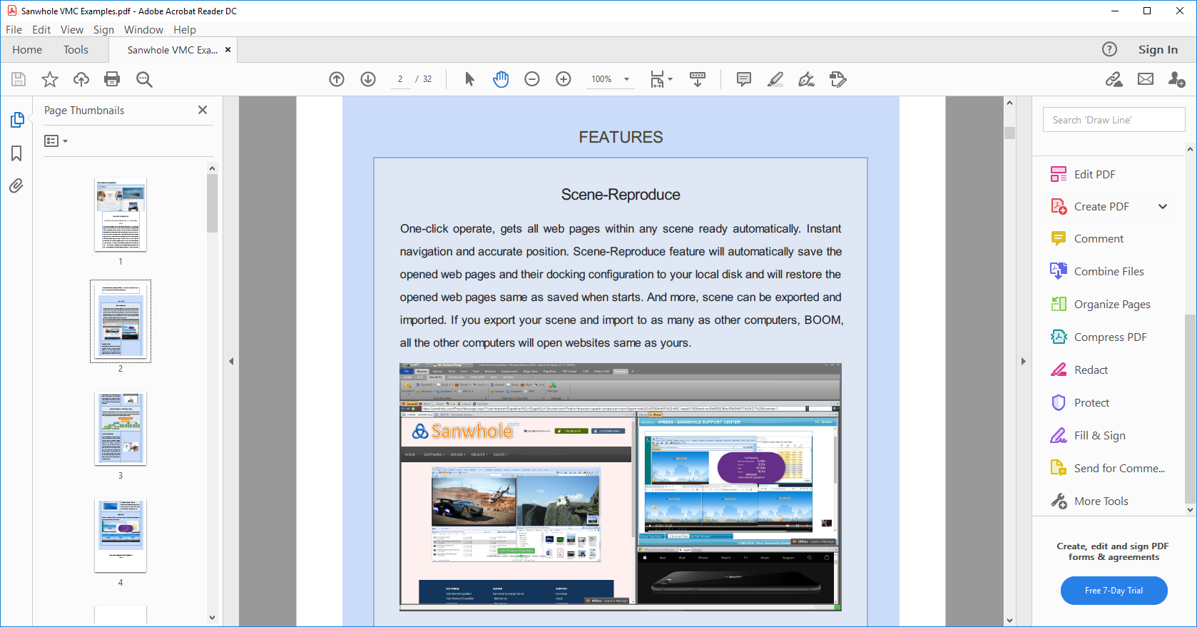 Business & Finance Software, Vole PDF Creator Professional Edition Screenshot