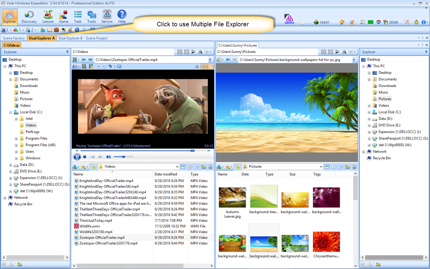 Vole Windows Expedition Ultimate Edition Screenshot 11