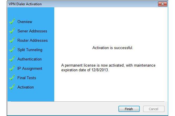 VPN Dialer 2012 Screenshot 8