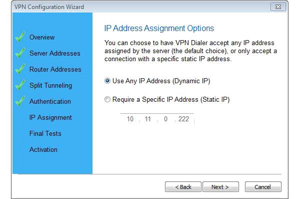 Network Connectivity Software, VPN Dialer 2012 Screenshot