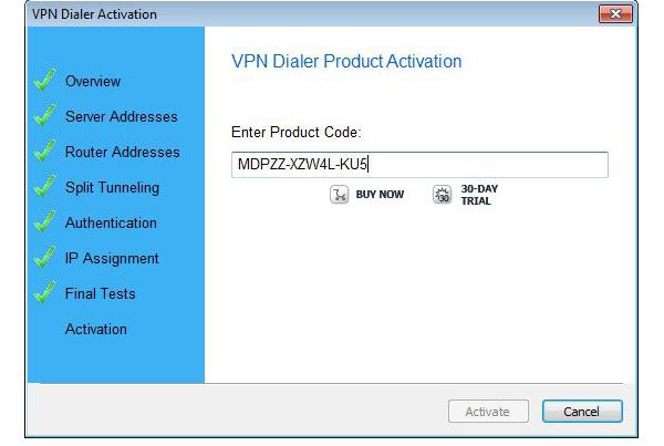 Internet Software, Network Connectivity Software Screenshot