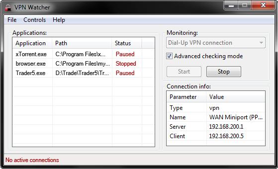 VPN Watcher Screenshot