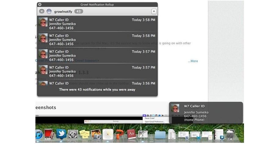 Instant Messaging Software Screenshot