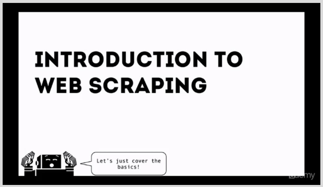 Web Scraping for Sales & Growth Hacking Screenshot