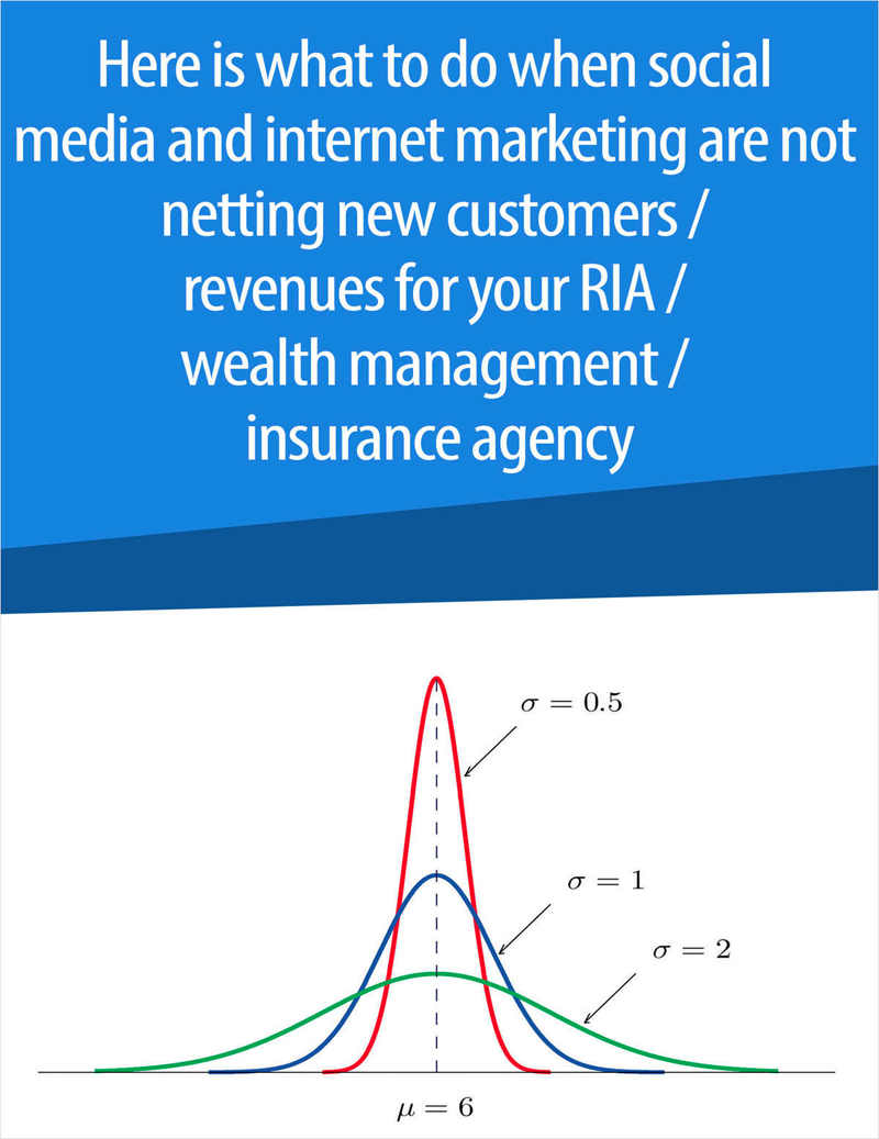 What to Do About Getting New Clients / AUM / Higher Target Premiums for RIAs, Broker/Dealers and Insurance Agencies Screenshot