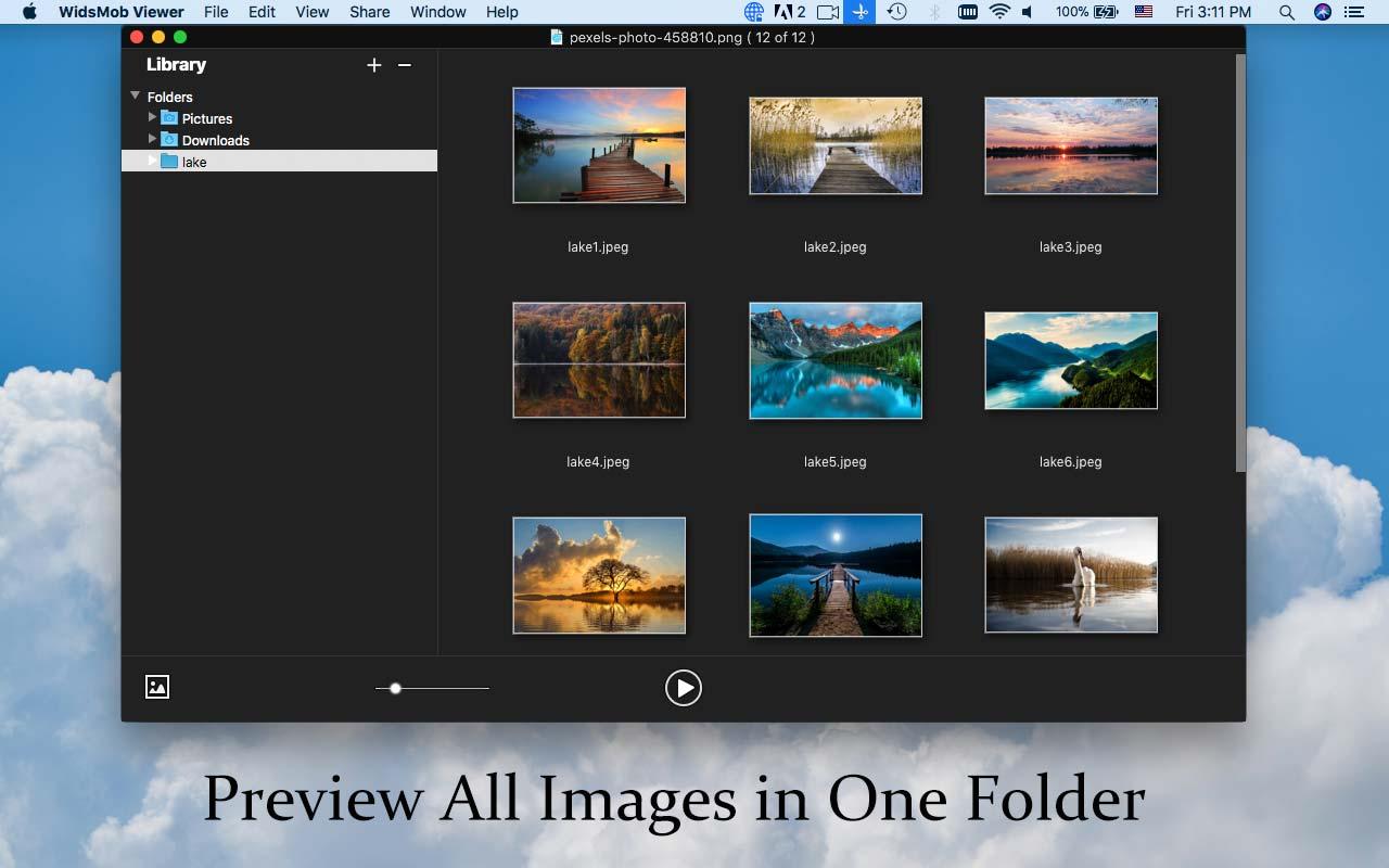 Image Viewer Software, WidsMob Viewer Screenshot