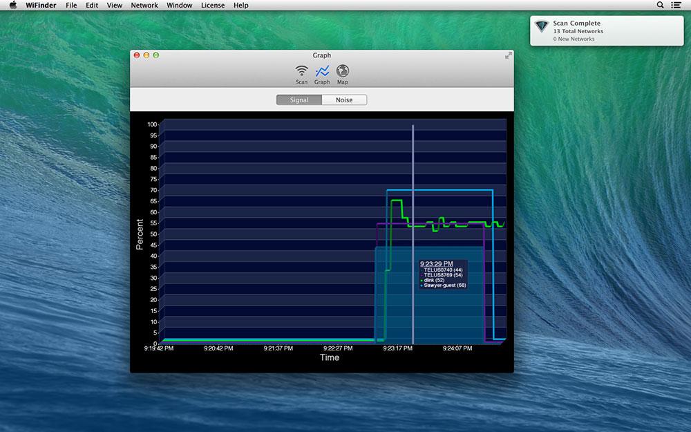 Network Connectivity Software Screenshot